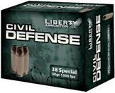 LIBERTY AMMUNITION Ammunition 38 SPECIAL
